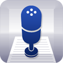 Voice memo text icon