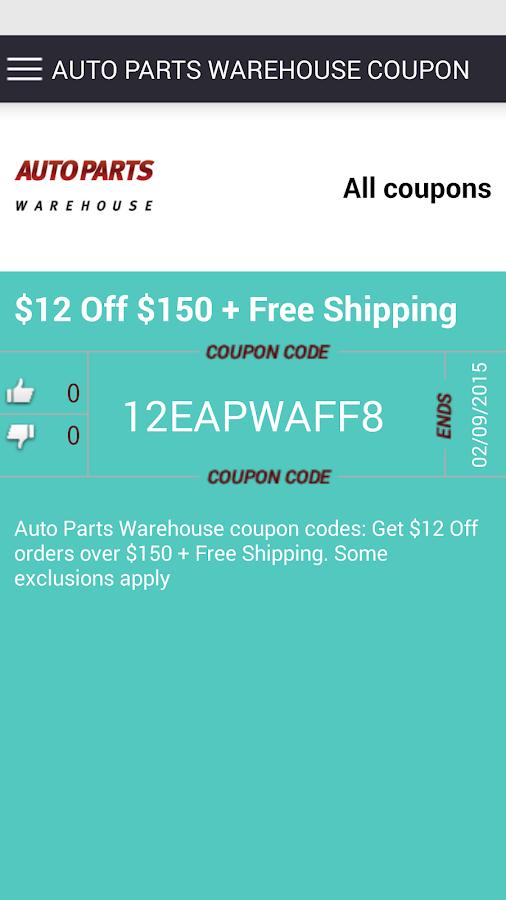 Amazoncom coupon codes Automotive