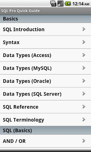 SQL Pro Quick Guide Free