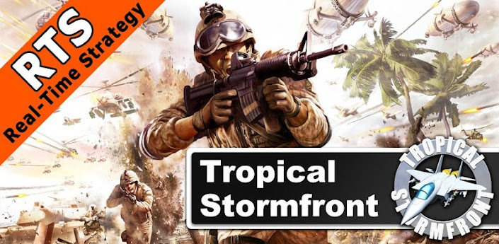 [ANDROID] Tropical Stormfront - RTS v1.0.9 .apk - ENG