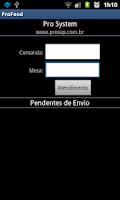Screenshot of Pro-Food
