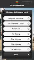 Screenshot of Suriname Nieuws Free