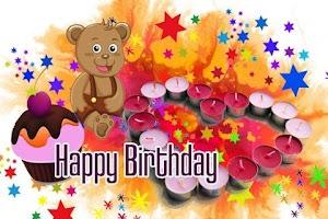 Screenshot of Birthday Cards