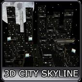 3D City Sky Line
