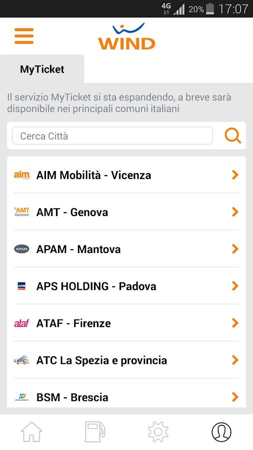 MyWind (App ufficiale Wind) - screenshot