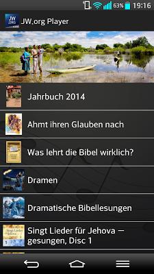 JW.org Player (deutsch) - screenshot
