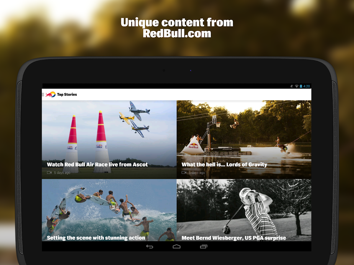 RedBull.com - screenshot