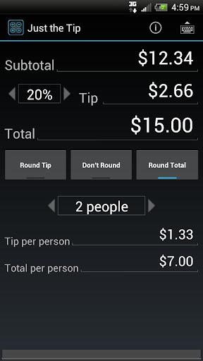 【免費財經App】Just the Tip - Tip Calculator-APP點子
