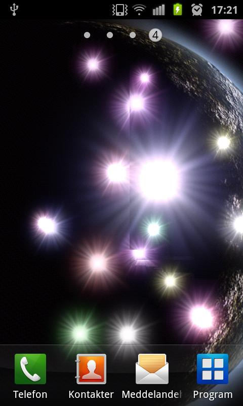 Supernova HD Live Wallpaper - screenshot