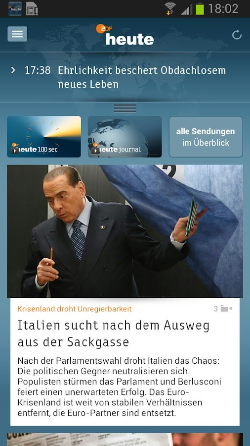 ZDFheute - screenshot
