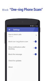 Call Blocker Free - Blacklist - náhled