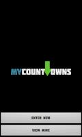Screenshot of My Countdowns