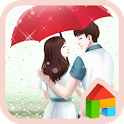 lovely girl love rain dodol icon