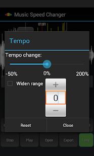 Music Speed Changer Pro - náhled