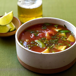 Mexican-Inspired Vegetable Soup.
