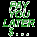 Pay You Later     (IOU) logo