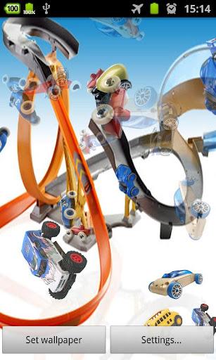 玩具车 3D 動態桌布