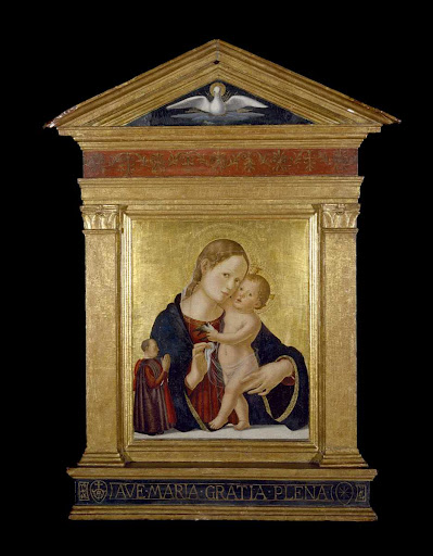 Virgin and Child with Donor