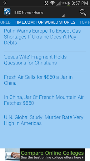 World News from alot.com