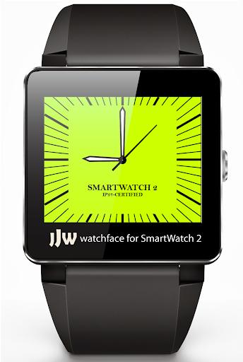 Square Clock1 for SmartWatch 2