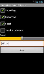 International Code of Signals- screenshot thumbnail