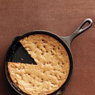 Skillet Chocolate Chip Cookie.