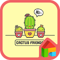 cactus friends dodol theme icon