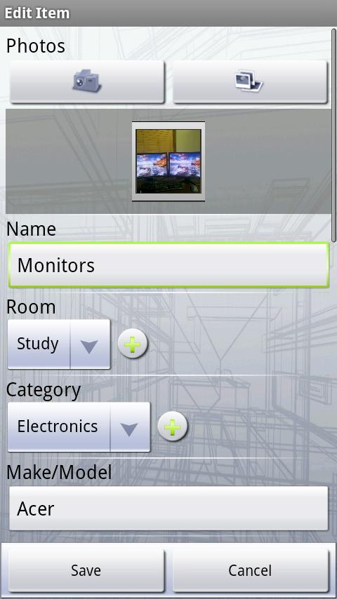 MyHome Lite: Home Inventory - screenshot