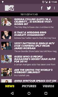 MTV News (UK) - screenshot thumbnail