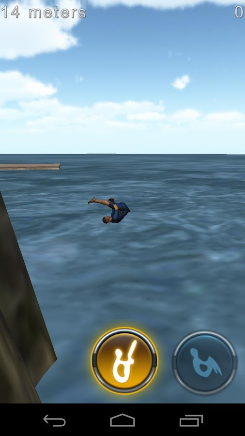 Cliff Diving 3D - screenshot