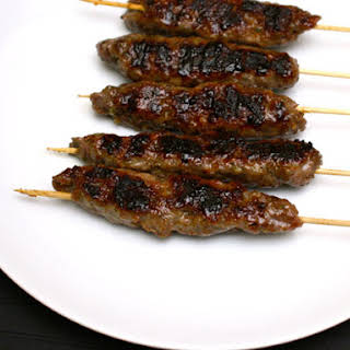 Lamb Kefta with Dates and Sage.