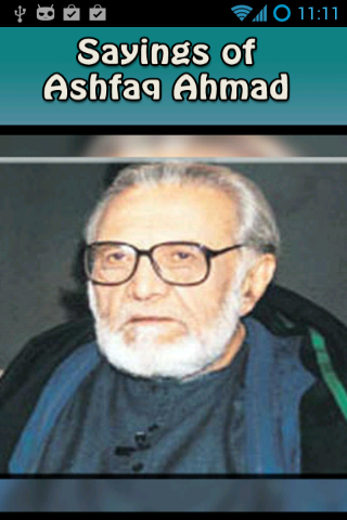 Sayings of Ashfaq Ahmad