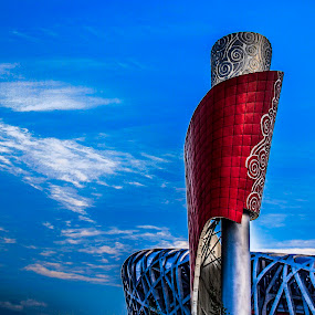 Beijing National Stadium by Eddy Tan - Buildings & Architecture Other Exteriors ( olympic, building, stadium, beijing, china )