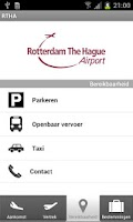 Screenshot of Rotterdam The Hague Airport