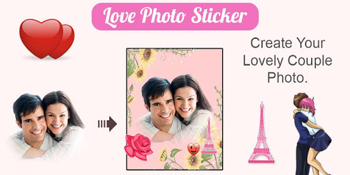 Photo Editor : Love Stickers