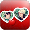 Love Heart Photo Template LWP icon