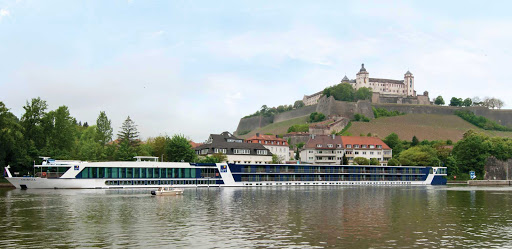 AmaBella-exterior-castle - Guests will have the ultimate viewpoint from the AmaBella's decks during a cruise of Europe's waterways.