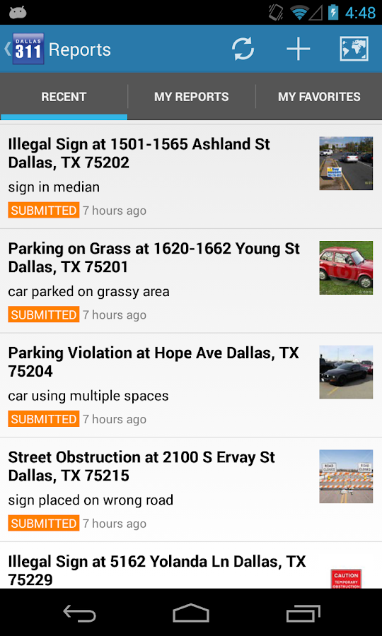Dallas 311- screenshot
