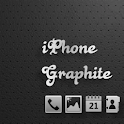 iPhone Graphite GO Launcher EX logo