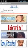 Screenshot of WDF Funny Sounds