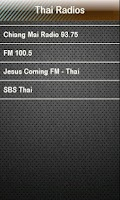 Screenshot of Thai Radio Thai Radios