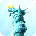 Statue of Liberty 3D icon