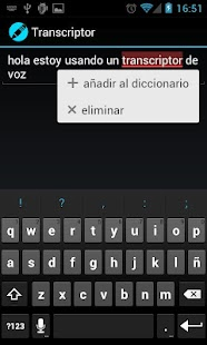 Voice Transcriber - screenshot thumbnail