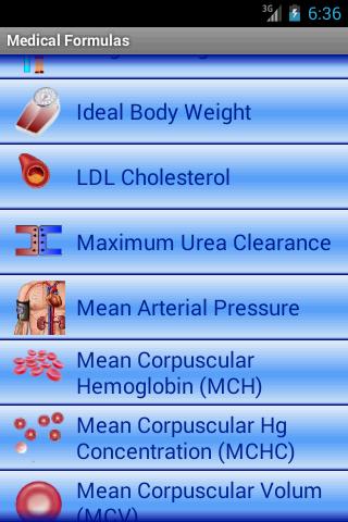 Medical Formulas