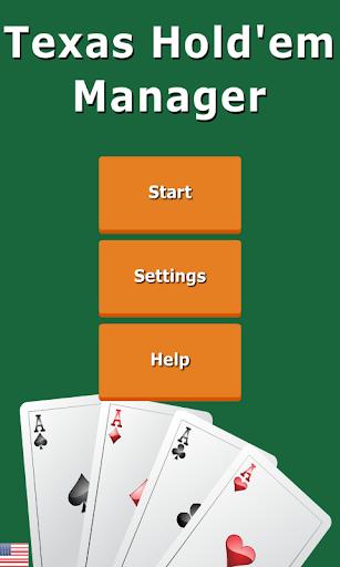 Texas Hold'em Manager