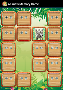 Animals Memory Game - screenshot thumbnail
