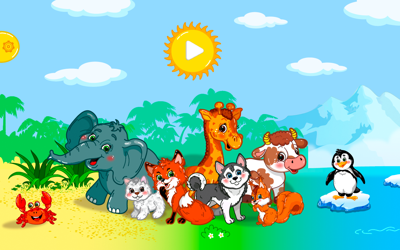 Animal puzzles for toddlers 1+ screenshot #15