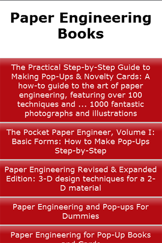 Paper Engineering Books