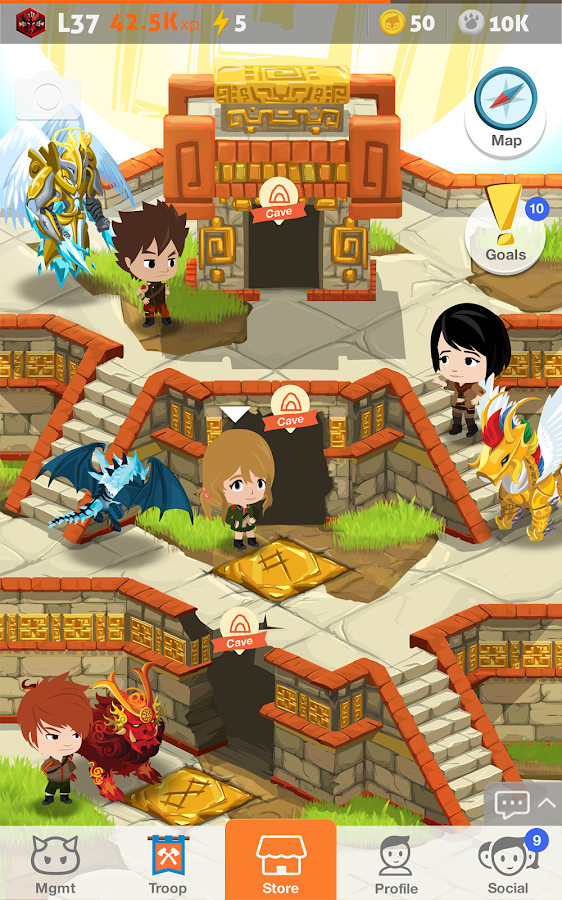 Battle Camp- screenshot