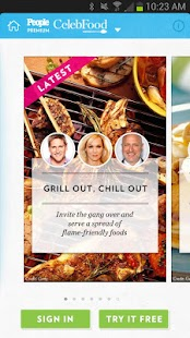 PEOPLE CelebFood: Recipes- screenshot thumbnail